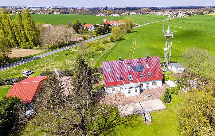 360° Panorama Fotograf Dresden Riesa / Grundstücksbesichtigung für Sperschneider Immobilien