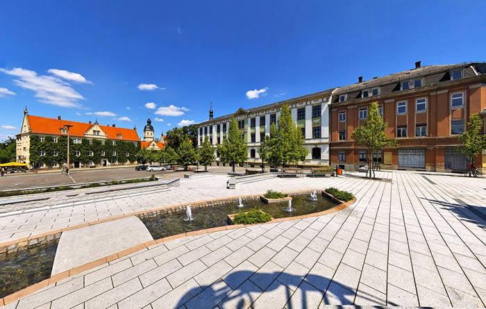 360° Panorama Fotograf Dresden Riesa / 360° Rundgang durch die Stadt Riesa