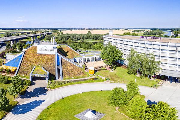 360° Panorama Fotograf Dresden Riesa / Hotelrundgang durch das Mercure Riesa